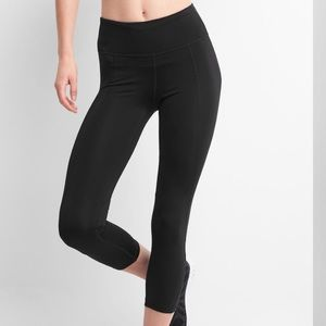 Gapfit Cropped Gfast Leggings Regular Rise